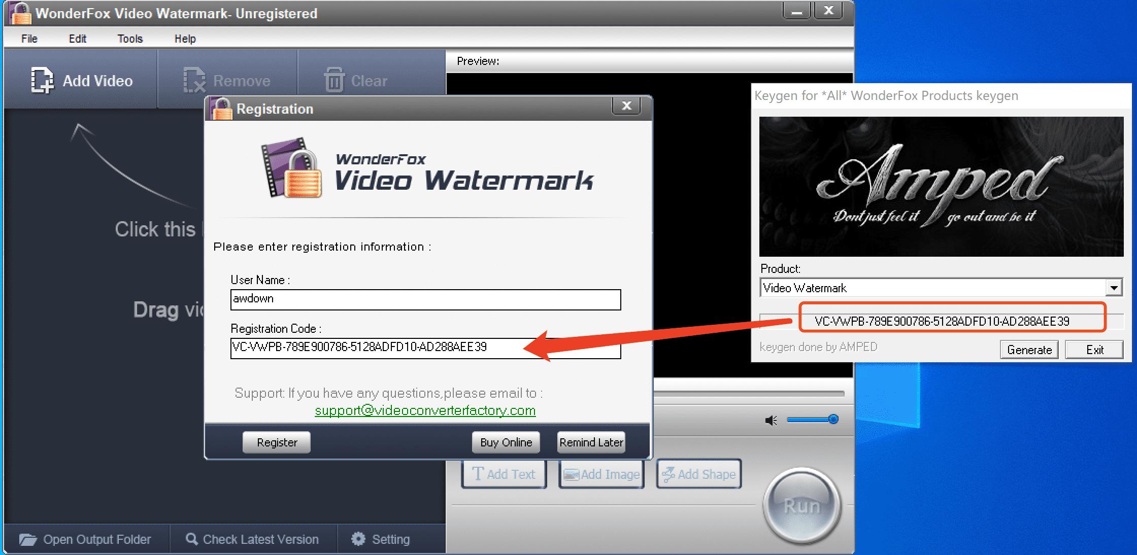 WonderFox Video Watermark v3.3 豌豆狐视频加水印软件